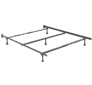 as you can see above the queen size bed frame has a beam across the middle for added support some bed frames dont have this but you need the center
